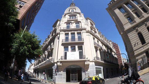 En pleno San Telmo se encuentra el Palacio Raggio<br>