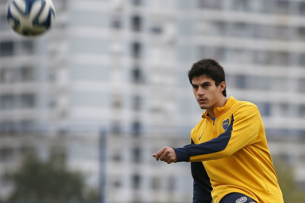 Las lesiones no le dieron continuidad a Perotti en Boca