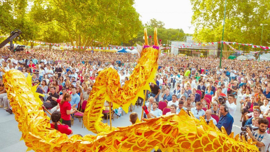 Los festejos por el Año Nuevo chino serán en Belgrano