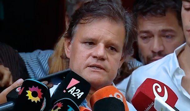 <p>Quique Sacco, ex pareja de Débora Pérez Volpin</p>