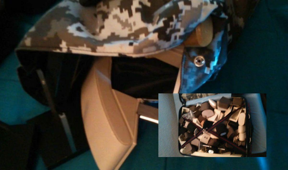 Las joyas fueron recuperadas este viernes por la policía en Punta del Este