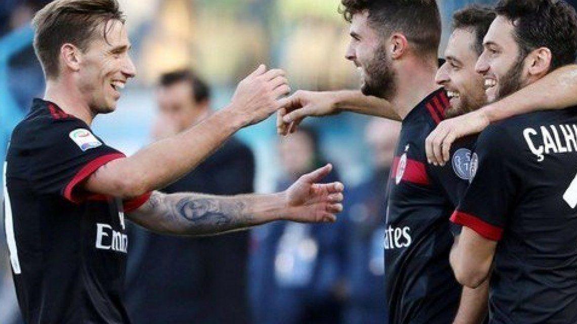 Excelente debut de Biglia en Milan
