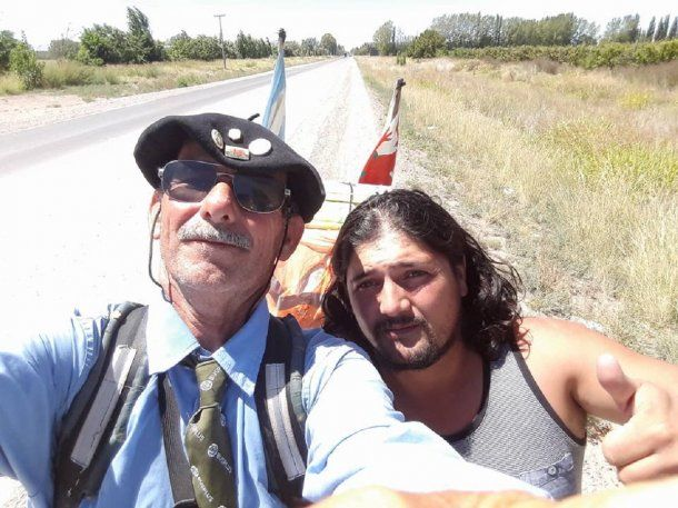 Echegaray Davies quiere caminar de Ushuaia a Alaska – Crédito: Martín Echegaray Davies