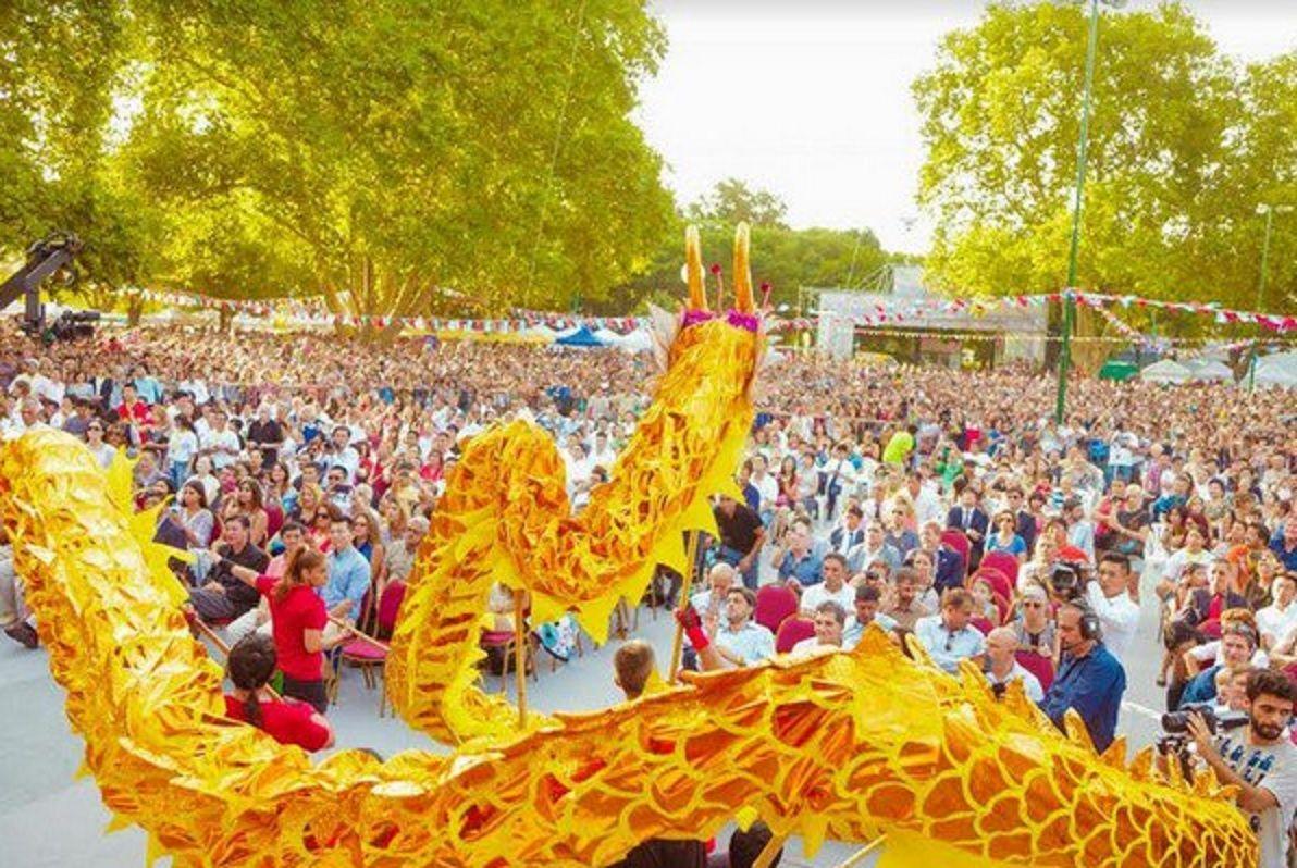 El Año Nuevo Chino se celebra en Belgrano