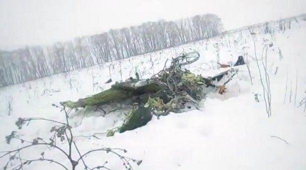 No hay sobrevivientes en el siniestro del AN-148.