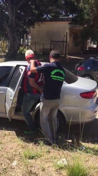Detuvieron en la Costa a un barra de San Lorenzo por narcotráfico