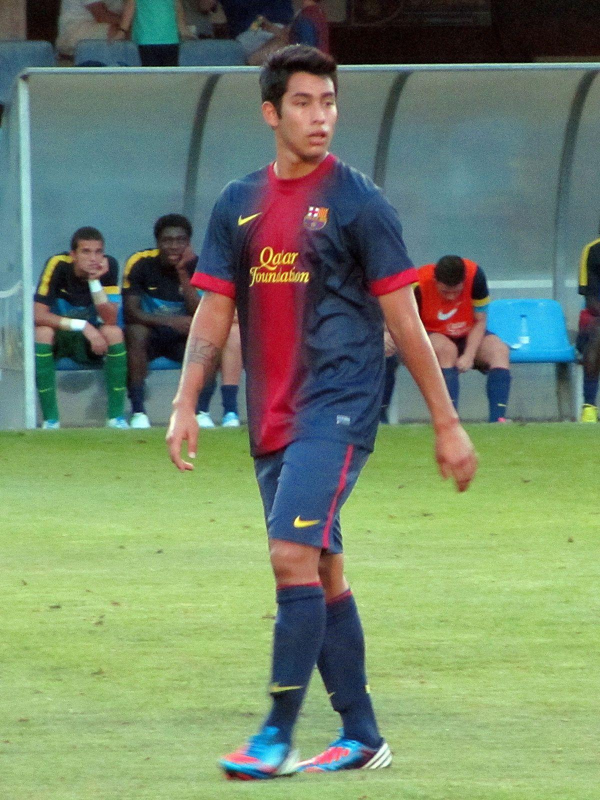 Sergio Araujo en el Barcelona