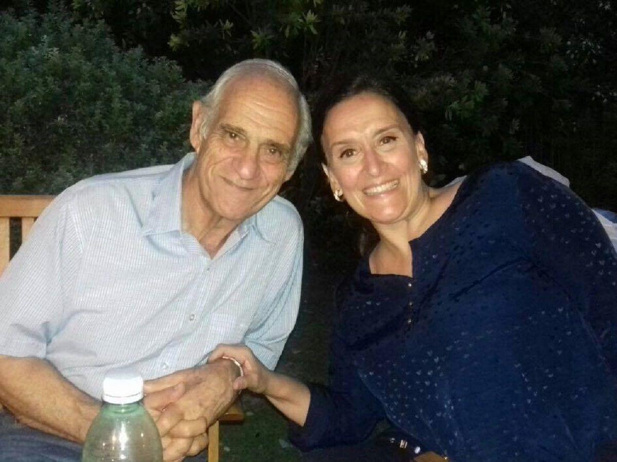 Gabriela y Mario Michetti - Crédito: Facebook Gabriela Michetti