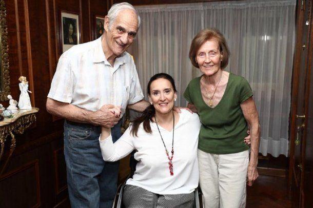 Los padres de Gabriela Michetti, Mario y Marta - Crédito: Facebook Gabriela Michetti