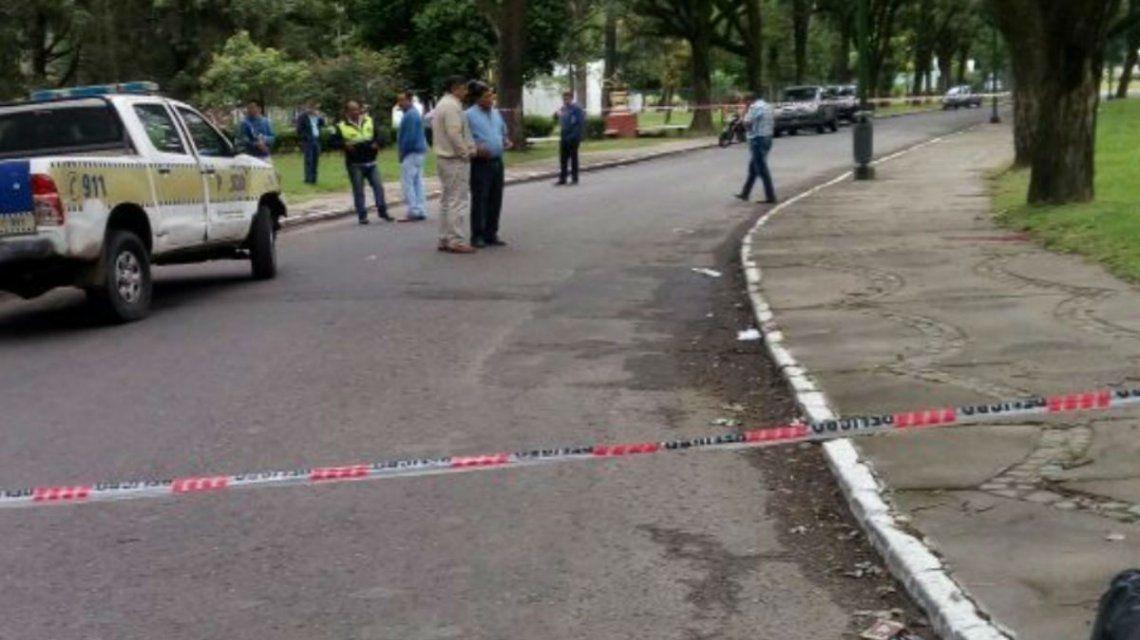 Los policías se encontraban patrullando la zona