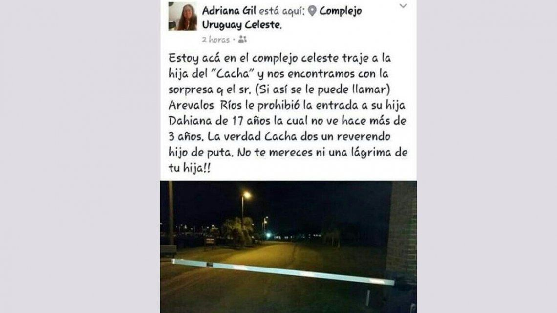 El escrcache que sufrió en las redes sociales el uruguayo