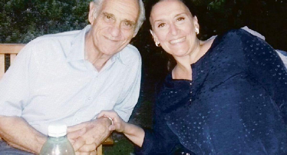 Mario Michetti con Gabriela Michetti