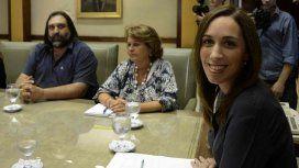 María Eugenia Vidal y los docentes vuelven a negociar salarios