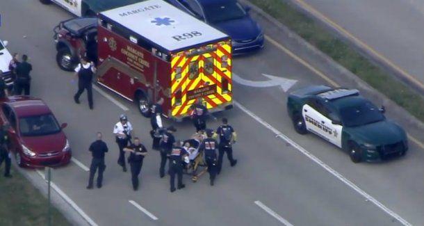 Hay al menos 20 heridos tras el tiroteo en una escuela de Florida