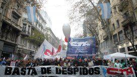 Cortes y movilizaciones a Plaza de Mayo por una protesta de la CTA y ATE