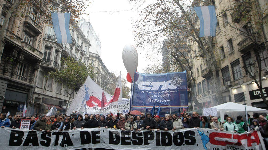Cortes de calles y movilizaciones a Plaza de Mayo por una protesta de la CTA y ATE