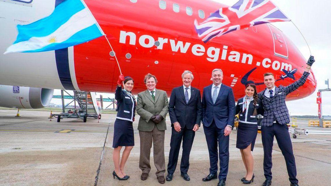 Norwegian debutó con demoras: la low cost llegó una hora más tarde a Ezeiza