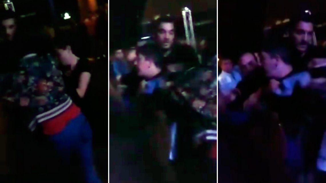 Así sacaron los patovicas a la pareja gay que se estaba besando en un bar de Necochea