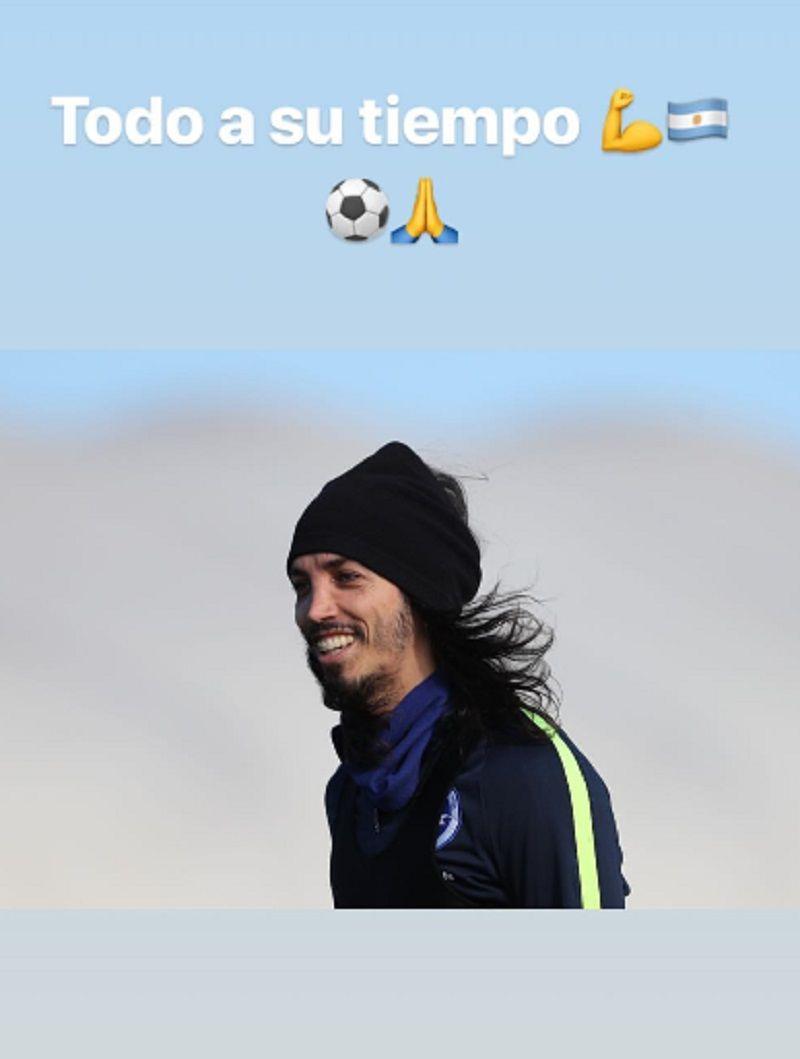 Ezequiel Schelotto ya se siente jugador de la Selección: mirá lo que publicó
