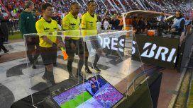 Así lucía el VAR en la Copa Libertadores