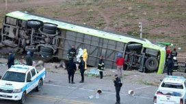 El vuelco trágico en Mendoza (Gentileza: Los Andes)