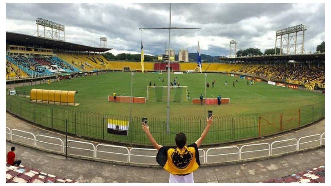 El estadio Raulino de Oliveira tiene capacidad para 20 mil espectadores