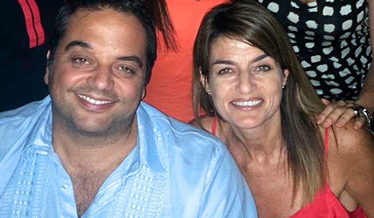 Jorge Triaca junto a su hermana Lorena