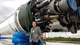 El millonario y emprendedor Elon Musk sigue con sus proyectos en el espacio