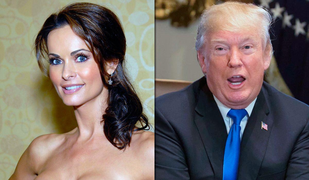 Karen McDougal reveló que tuvo un affaire con Donald Trump