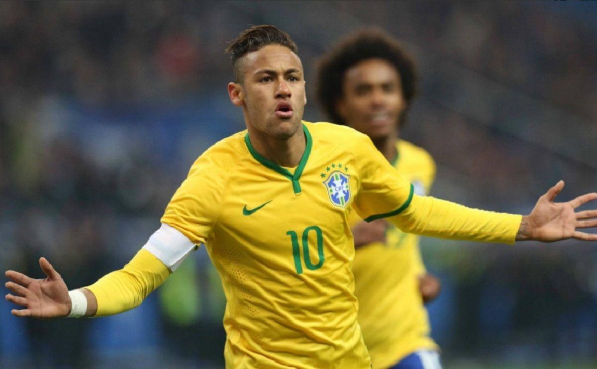 Neymar en la Selección de Brasil - Crédito:@CBF_Futebol