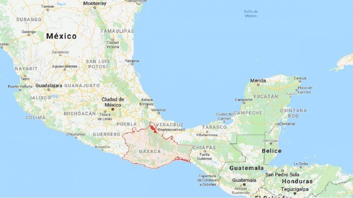 Un terremoto de 7,2 grados en la escala de Richter sacudió a México y generó gran alarma