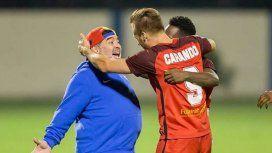 El elegido de Maradona, Danilo Carando, llevó a Al Fujairah a la victoria