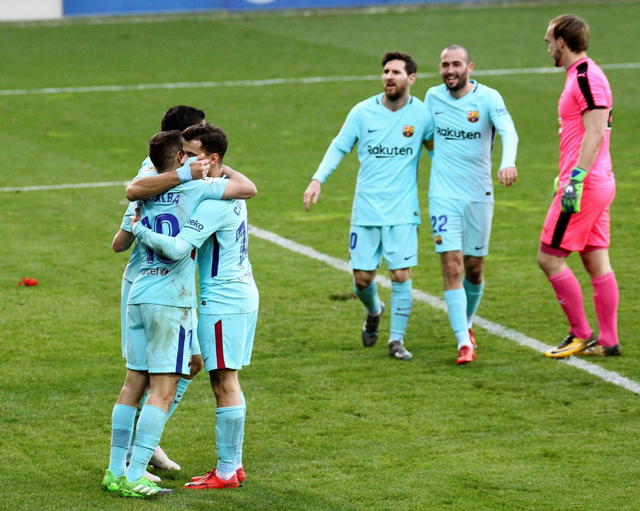Barcelona volvió al triunfo