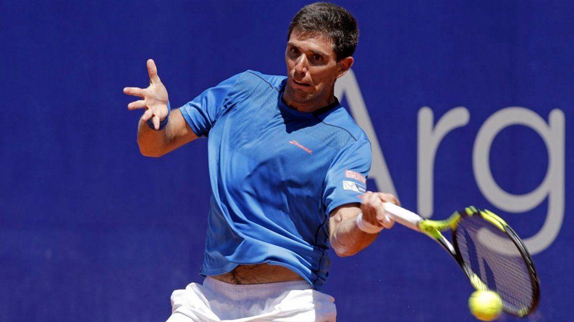 Cayó Delbonis y el ATP de Buenos Aires se quedó sin argentinos