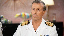 Capitán Enrique Balbi, vocero de la Armada