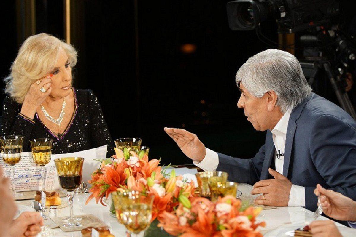 Moyano en la mesa de Mirtha