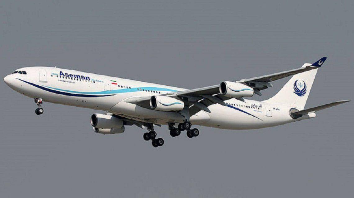 Se estrelló un avión en Irán con 66 pasajeros
