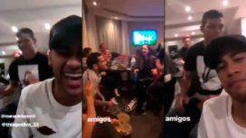 Póker, música y tragos: la fiesta de Neymar y lo brasileños del PSG