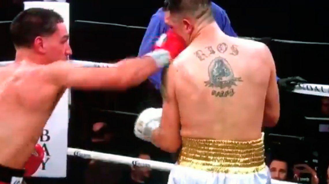VIDEO: El KO de Danny García a Brandon Ríos