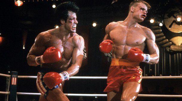 Rocky Balboa vs. Iván Drago, una de las peleas más épicas de la historia del <a href=