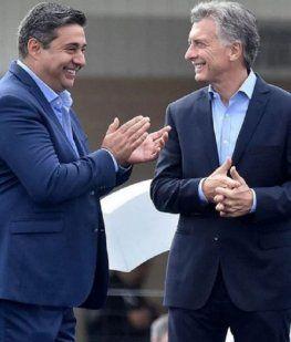 Macri mantiene una gran relación con Angelici y el DT de Boca