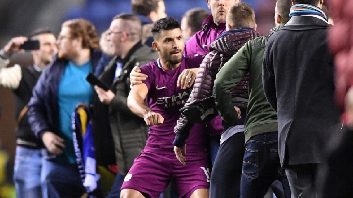 Eliminación sorpresiva del Manchester City y piñas al final