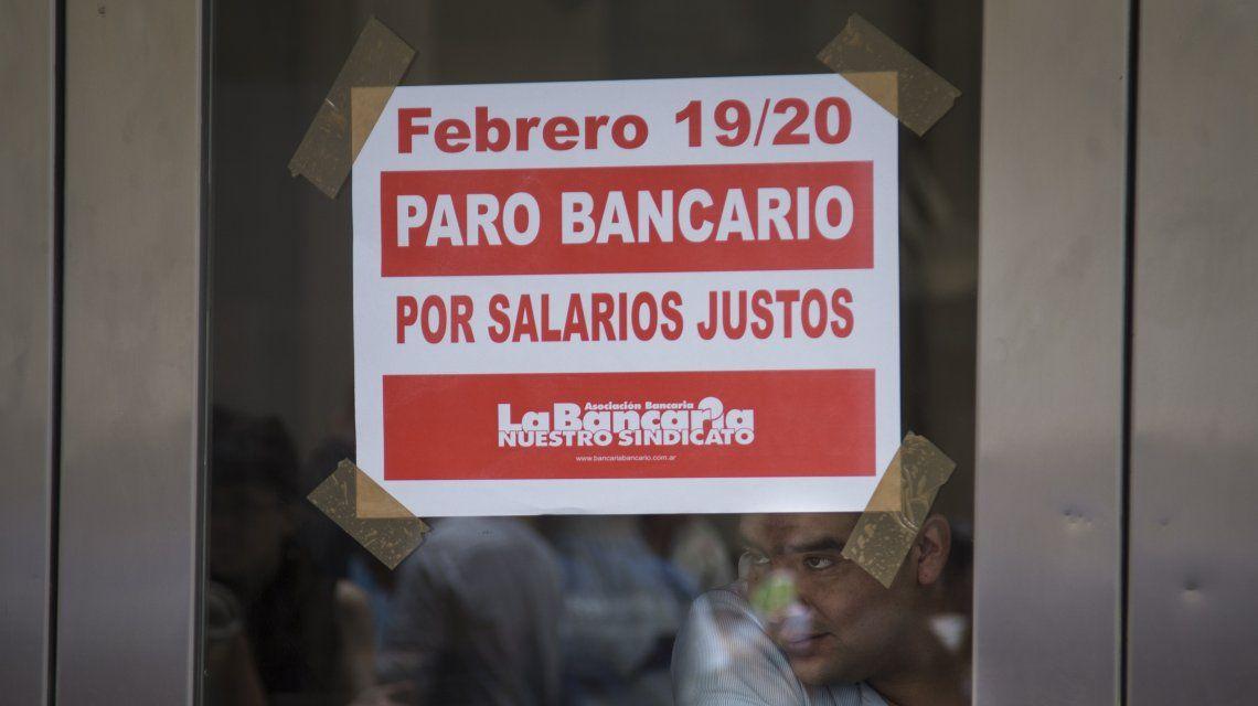 Hoy se lleva adelante el segundo día del paro bancario