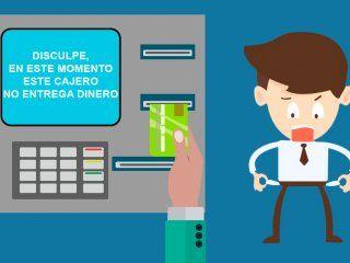 por el paro bancario puede faltar plata en los cajeros: las alternativas para sacar efectivo