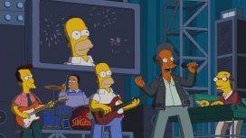 Homero y Apu, de Skay y el Indio