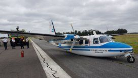 Cerraron el aeropuerto de Mar del Plata tras un accidente de un avión