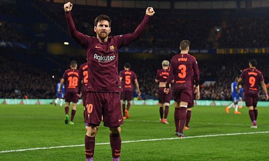 Messi salió al rescate de Barcelona, que se llevó un buen empate ante el Chelsea