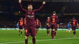 Messi salió al rescate de Barcelona