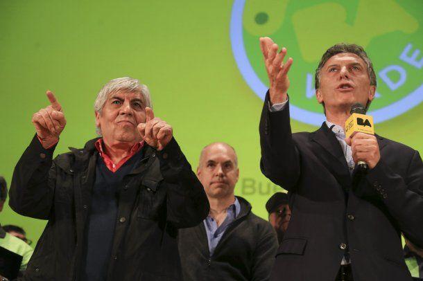 """""""Hugo Moyano y Mauricio Macri"""""""