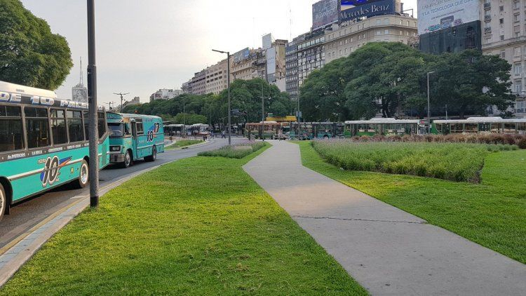 Metrobus de la avenida 9 de julio